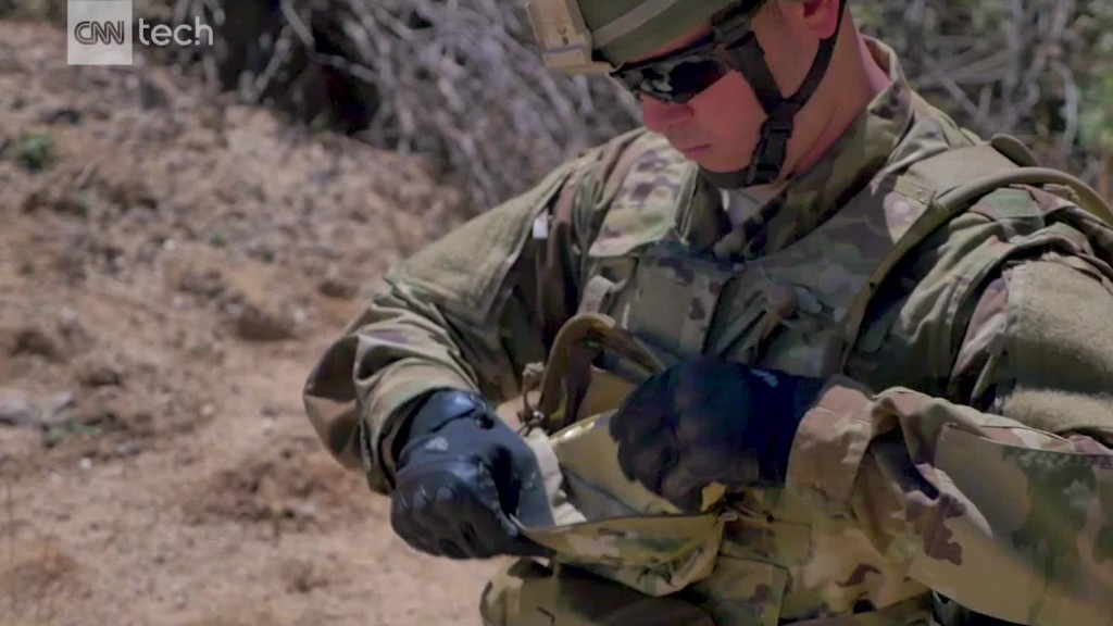 A mini-drone in every soldier's pocket?