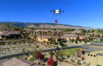A drone delivers an AED in Reno, Nev.
