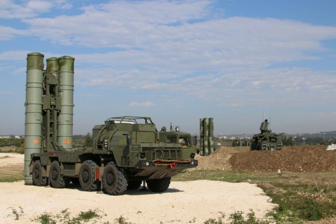 S-400 Triumf air defence missile system