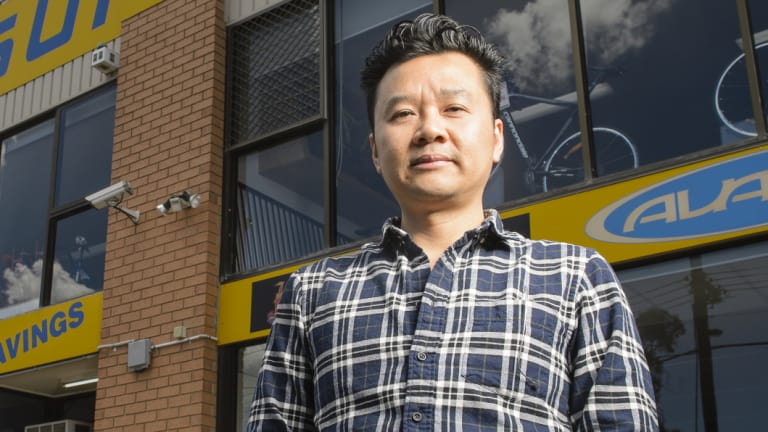 Mitchell Traders' Association secretary Julian Kusa is excited tech company Wing will establish a permanent base for its delivery drones in the suburb