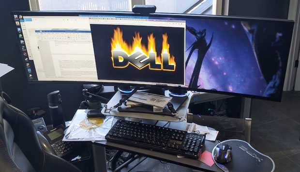Dell UltraSharp 49 Curved Monitor