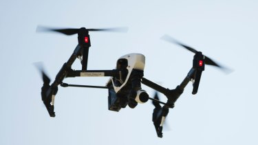 Drones will be used right across Perth beaches and Meelup beach in the south west.