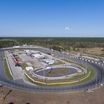 Drone Aerial Photography Raceway