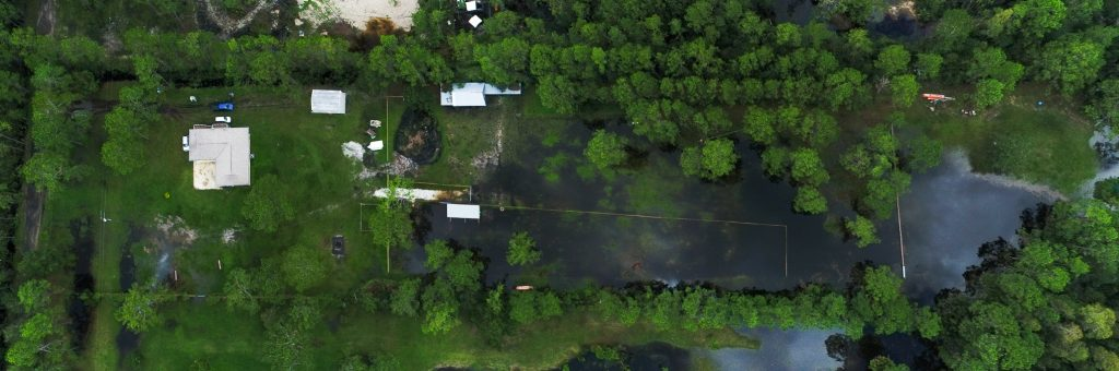Flooding off sr40 for insurance Ormond Beach Aerial Photographer
