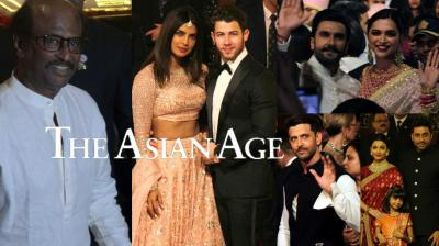 The big fat Isha-Anand wedding witnessed some super heavyweight names gracing the gala affair, with the likes of from Rajinikanth, Shah Rukh Khan, Amitabh Bachchan and family, Priyanka Chopra-Nick Jonas, Deepika Padukone-Ranveer Singh, Kareena Kapoor Khan-Saif Ali Khan, Alia Bhatt and many others. Take a look at the pictures from the ceremony. (Photos: Mrugesh Bandiwadekar)