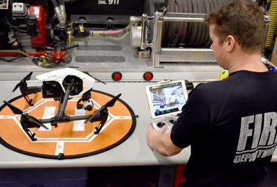 IN DEPTH: First responders, businesses increasingly turn to drones