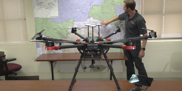 The US Forest Service's coverage area of Grand Canyon National Park, Kaibab and Coconino National Forests, Flagstaff and Verde Valley Area National Monuments—plan to use drones on future missions.