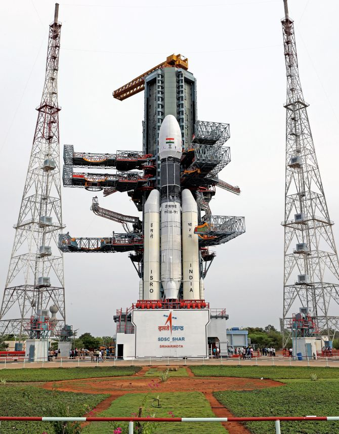 Countdown to Chandrayaan 2 launch begins