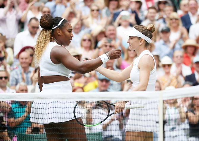 Chilling Halep bubbles to the boil for Wimbledon glory