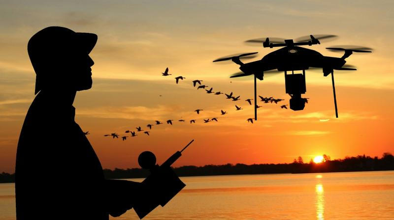 In 2018, the global drone market was estimated to be worth USD 14 billion and is expected to reach USD 43 billion by 2024.