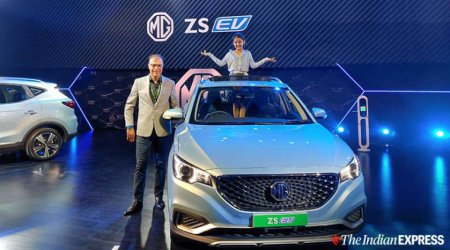 MG ZS EV, MG Motors' first electric car for India, launched