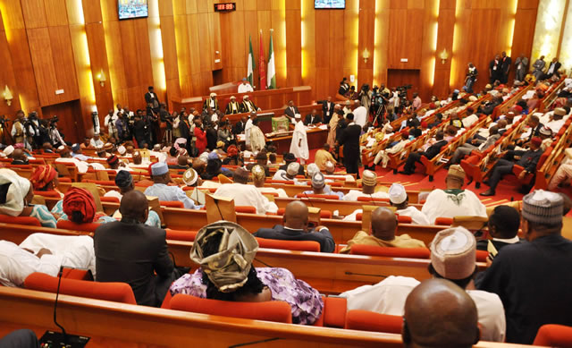Drama as senators clash over security activities at ports